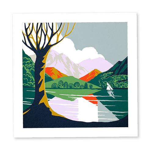 The Lake District print
