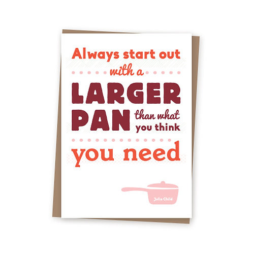 Larger Pan card