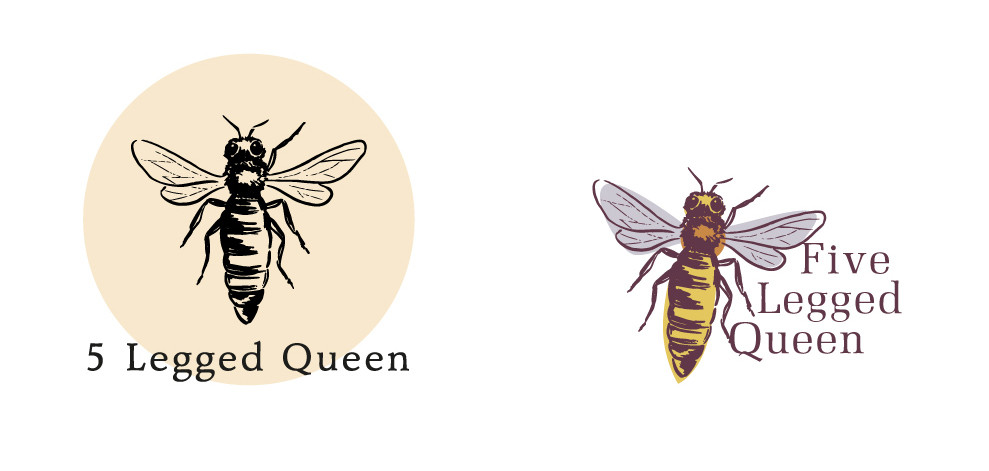 five-legged-queen logos