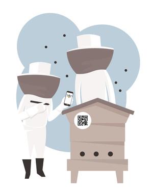 Bee.Watch smartphone technology