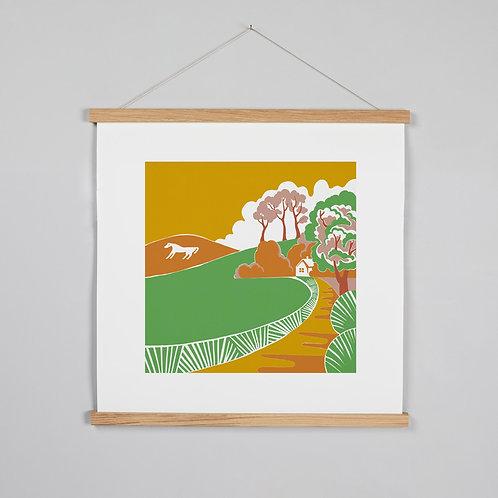 Summer Horse print