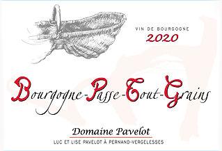 BOURGOGNE PASSE TOUT GRAINS étiquette 75