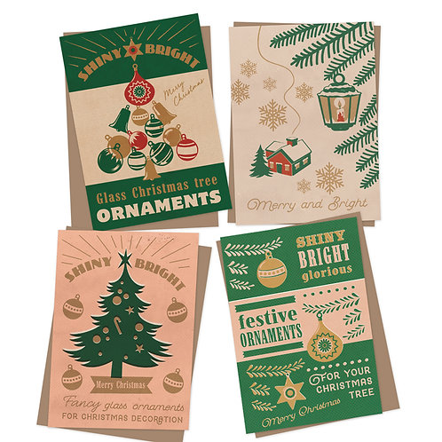Shiny Bright Charity Christmas cards