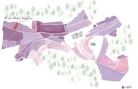 Carte Rouge ile des vergelesses Domaine