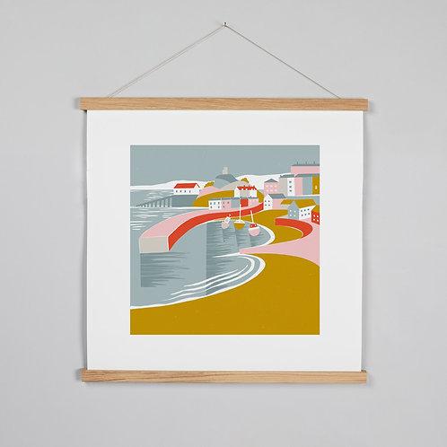 Tenby Seaside print