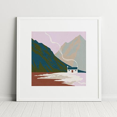 Mountain Home print