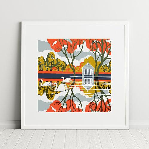River Reflections print