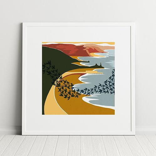 Aberystwyth Murmuration print