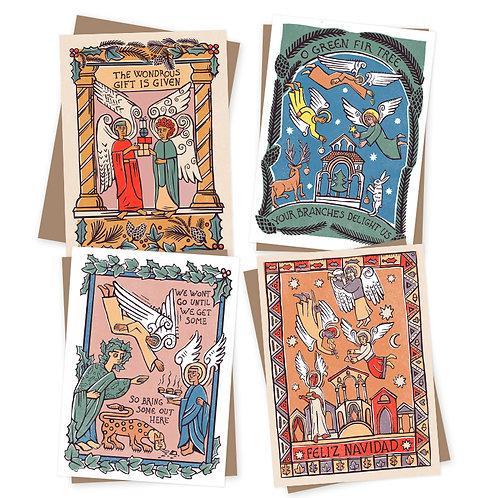 Angel Antics Charity Christmas cards