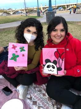 Kaitlyn Marx & Valerie Ramirez