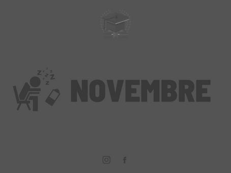 Le mois de Novembre