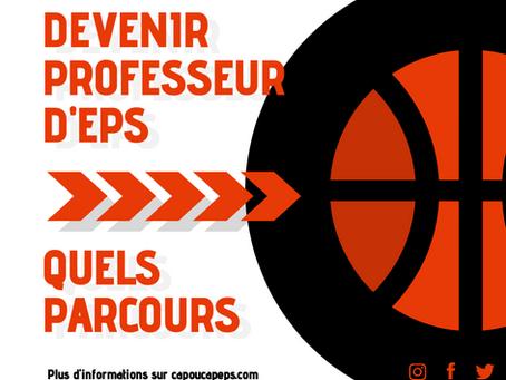 Devenir enseignant d'EPS : Quels parcours ?