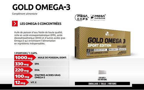 GOLD OMEGA-3 / 120 Caps