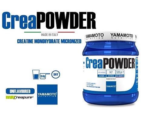 CREATINE POWDER YAMAMOTO CREAPURE QUALITY 500 gr