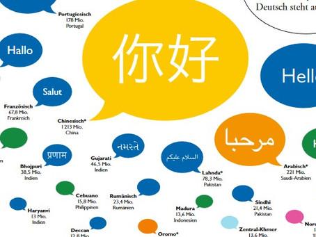 Sprachen-Vielfalt