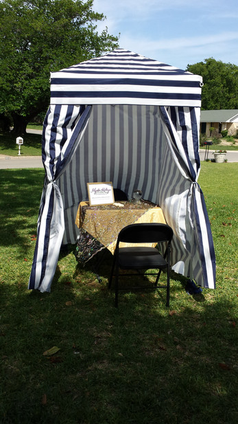 Privacy Fortune Teller Tent
