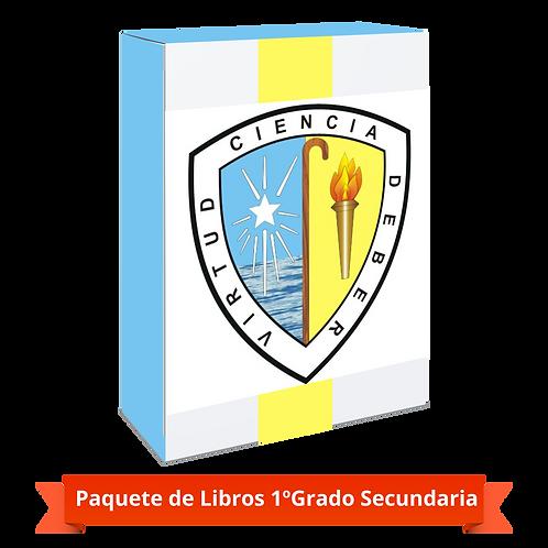 PAQUETE 1º GRADO SECUNDARIA