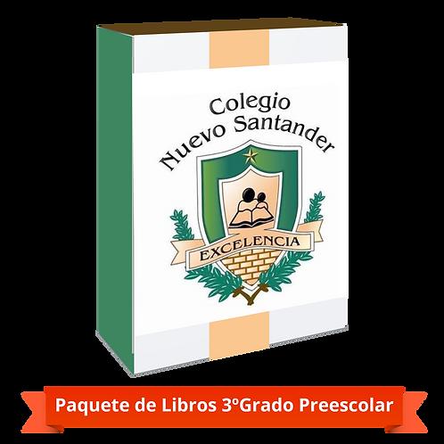 PAQUETE 3º GRADO PREESCOLAR
