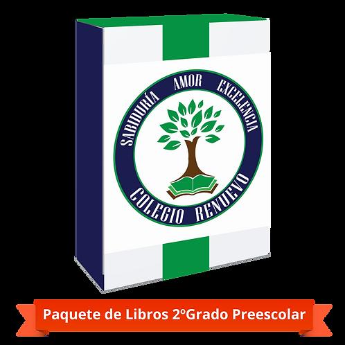 PAQUETE 2º GRADO PREESCOLAR