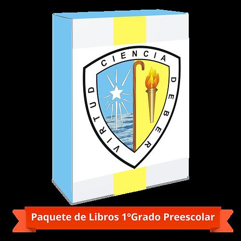 PAQUETE 1º GRADO PREESCOLAR