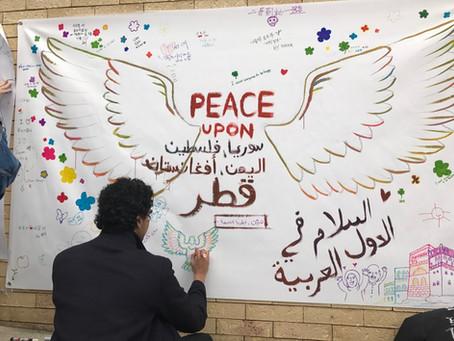 [Open Day of Art] 삼청동 골목에서 '평화의 벽화'를 함께 그려요! 현장스케치