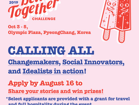 Calling all Changemakers, Social Innovators and Idealists in Action!