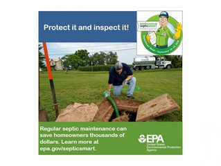 Inspect your Septic System
