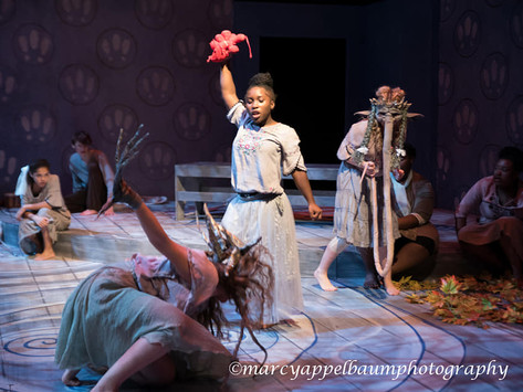 """2018-2019 Devised Theatre  Piece """"East of the Sun and west of the Moon"""""""