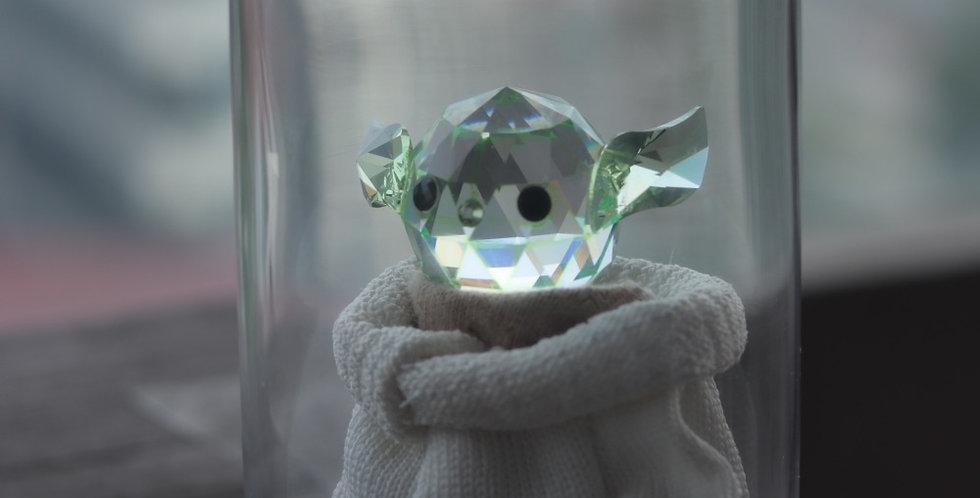 Crystal Baby Yoda