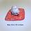 Thumbnail: Dog on Futon in ceramic