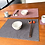 Thumbnail: Reversible duo-coloured Placemats (set of 2) with matching coasters