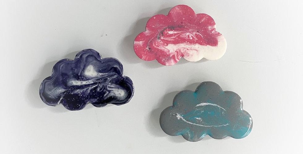 Cloud9 resin brooch
