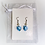 Thumbnail: Swarovski Heart with Pearl Earrings