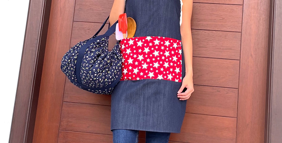 Pot-luck Bag (padded and lined)