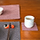 Thumbnail: Duo-coloured Insulated Potholder (set of 2) with matching coasters