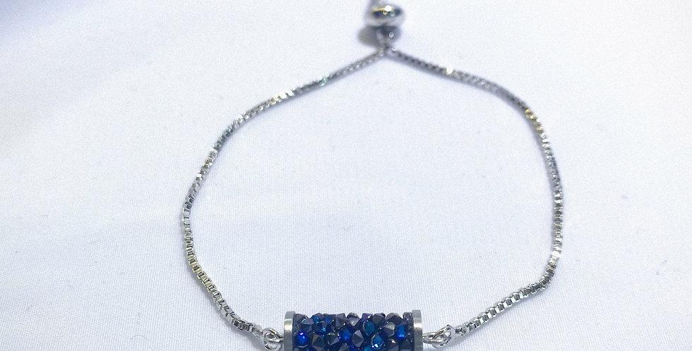 Swarovski Fine-Rocks Tube Crystal Bracelet