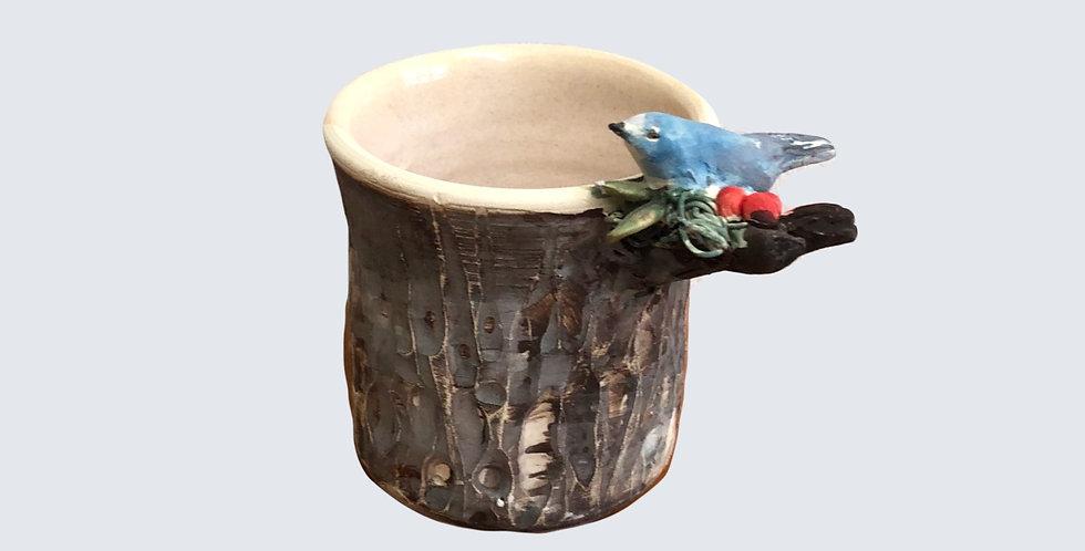 Bird on Pot