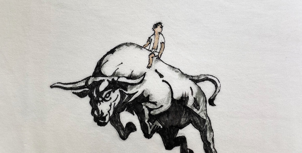 Personalised T-shirt (using Uniqlo AIRism T-shirt)