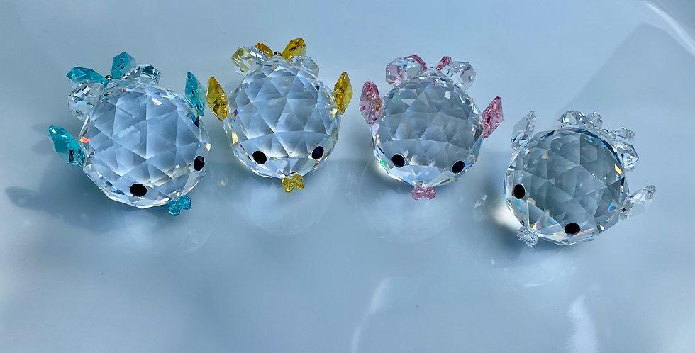 Swarovski Crystal Ornamental Fish