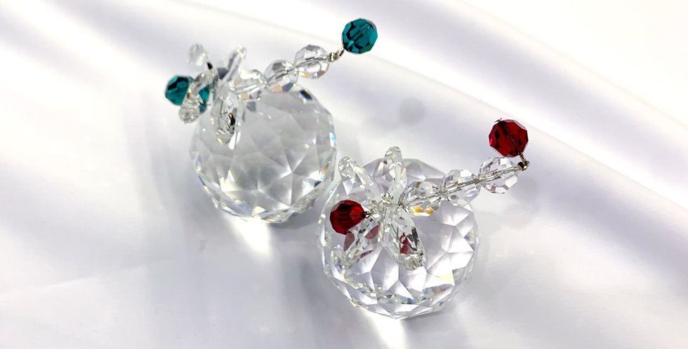 Crystal Dragonfly Ornament/Paperweight