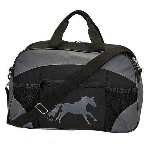 GG951 Black and Grey Duffle