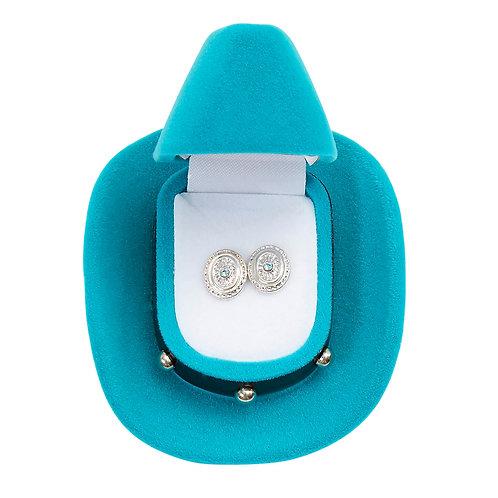 JE101 Concho Earrings
