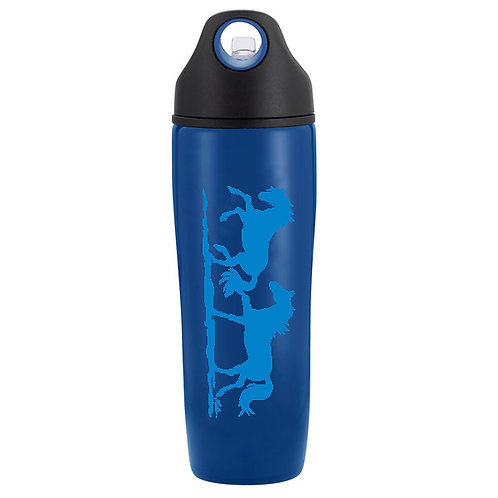 Lila© Blue Galloping Horse Sports Bottle