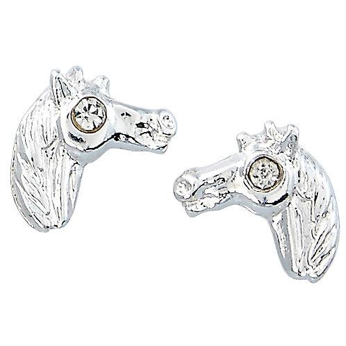 Horse Head Earrings in Cowboy Hat Gift Box