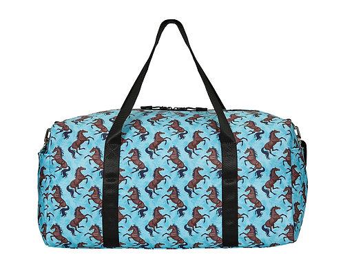 "GG824TQ ""Lila"" Galloping Bay, Duffle Bag, Turquoise"