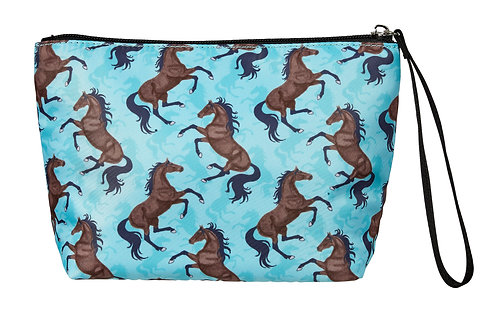 """GG606TQ """"Lila"""" Galloping Bays, Accessory Pouch, Turquoise"""