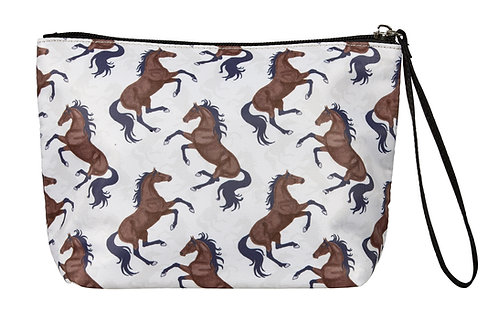 """GG606BE """"Lila"""" Galloping Bays, Accessory Pouch, Beige"""