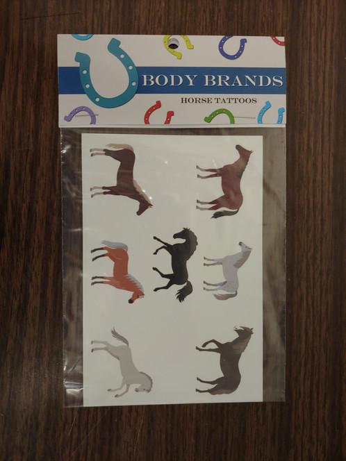 Assorted Horse Tattoos