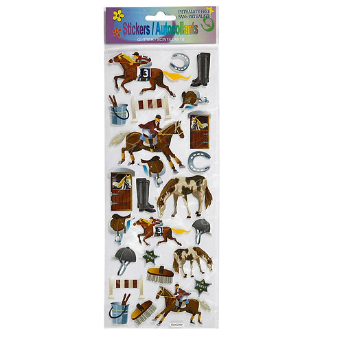 GG182CS Equestrian Stickers CASE OF 24