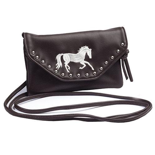 Lila©Gallop Horse Crossbody Bag/Wallet Combo